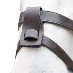 Blenheim läderhäst Flash-tillbehör One Size Havana