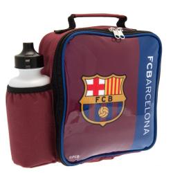 FC Barcelona Lunchpåse och flaska (2-pack) One Size Maroon / blå