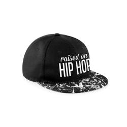CID Originals Raised On Hip Hop Marbled Snapback Cap One Size Sv