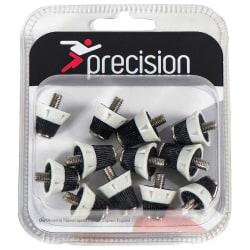 Precision League Pro fotbollsstövlar i en storlek vit / svart