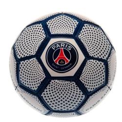 Paris Saint Germain Diamond Mini läderboll Size 1 Vit blå