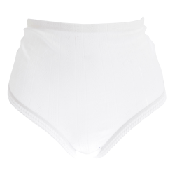 Passionelle Kvinnor / damer Jacquard vit bomullsdrag (paket med