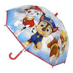 PAW Patrol Barn / barn manuellt paraply One Size Blå