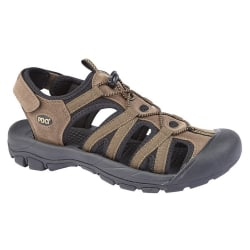 PDQ Superlight Herrsandalsandal 9 UK Brun