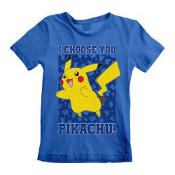 Pokemon Barn / barn Jag väljer dig T-shirt 5-6 Years Blå
