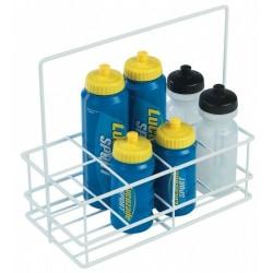 Precision 8 flaskor vattenflaskhållare One Size Vit