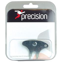 Precision Steel Stud Key One Size Silver