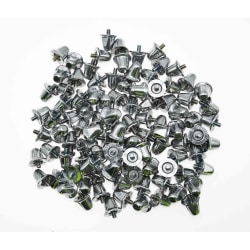 Precision Union Studs (100-pack) 21mm Silver