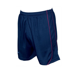 Precision Unisex vuxna Mestalla shorts M-L Navy / Röd