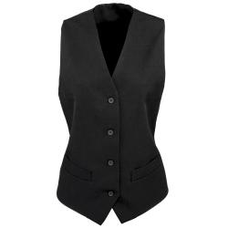 Premier Kvinnor / damer fodrad polyester väst / bar wear / cater