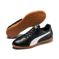 Puma Herr Monarch Fotbollsskor 10 UK Svart / Vit / Brun