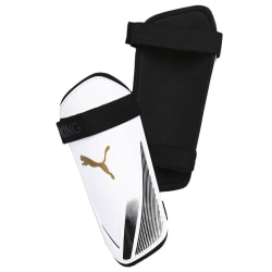 Puma King ES Slip-In Shin Guards S White / Gold