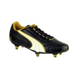 Puma Kratero Screw-in Boot / Boys Boots 10 UK Junior Svart / Vit /