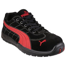 Puma Safety Silverstone Low Mens Safety Trainers 41 EUR Svart