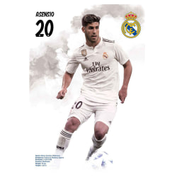 Real Madrid CF Asensio-affisch One Size Vit
