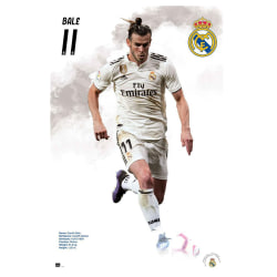Real Madrid CF Bale-affisch One Size Vit