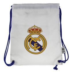 Real Madrid CF Crest Gym Bag One Size Vit