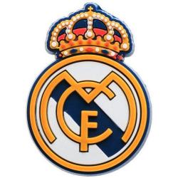 Real Madrid CF Crest Magnet One Size Blå / vit / gul