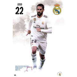 Real Madrid CF Isco-affisch One Size Vit
