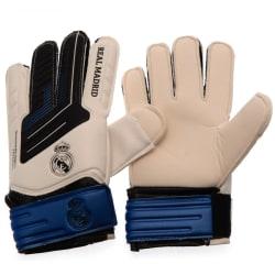 Real Madrid CF Junior keeperhandskar One Size Vit blå