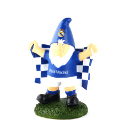 Real Madrid CF Officiell Champ Football Crest Garden Gnome One S