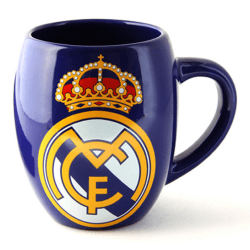 Real Madrid CF Officiell keramisk fotbollskrona te mugg One Size