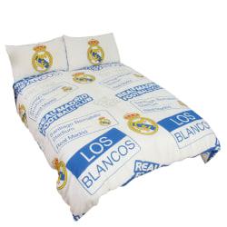 Real Madrid CF Officiell Patch Fotboll Crest Täcke Set för barn