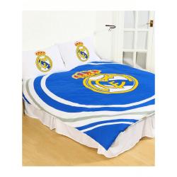 Real Madrid CF Officiell vändbar pulsduvetuppsättning Single Blå