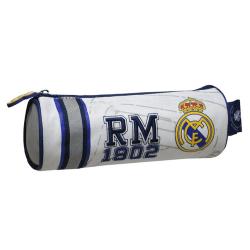 Real Madrid CF officiellt broderat cylindriskt pennfodral för ba