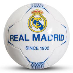 Real Madrid CF White Football One Size Vit