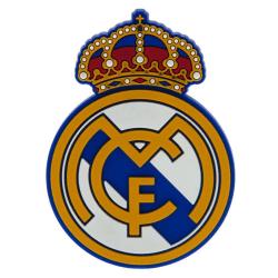 Real Madrid FC 3D kylmagnet One Size Gyllengul / blå