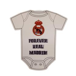 Real Madrid FC Baby ombord tecken One Size Vit svart