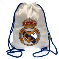 Real Madrid FC Gymtväska med dragkedja med dragkedja 42 x 33cm V