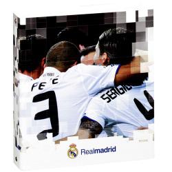 Real Madrid FC Officiell A5 Hardback Football Crest Folio Ring B