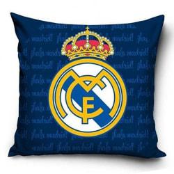 Real Madrid FC Prydnadskudde One Size Blå