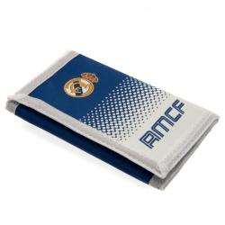 Real Madrid FC Touch Fastening Fade Design Nylon plånbok One Siz