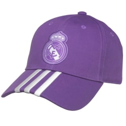 Real Madrid FC Unisex vuxna Adidas Cap One Size Purple / White