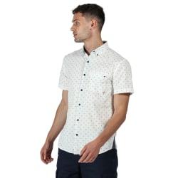Regatta Dalziel kortärmad skjorta för herrar XL Vit