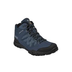 Regatta Herr Edgepoint Mid Waterproof Hiking Shoes 11 UK Blå sva
