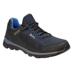 Regatta Herr Highton Stretch Shoes 10 UK Marinblå / Nautisk