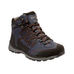 Regatta Samaris Mid II vandringsstövlar för män 8 UK Marinblå /