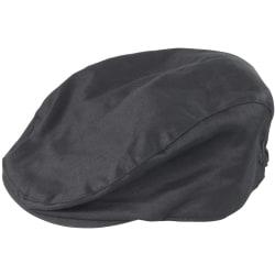 Result Headwear Gatsby Flat Cap One Size Svart