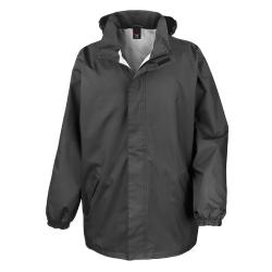 Result Herr Core Midweight Waterproof Windproof Jacket M Svart Black M