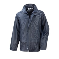 Result Mens Core Stormdri Rain Over Jacket S Marinblå
