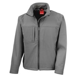 Result Softshell Premium 3-lagersjacka för herrar (vattentät, vi Workguard Grey L