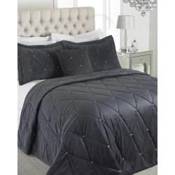 Riva Home Diamante sängäckeset 220 x 240cm Tenn