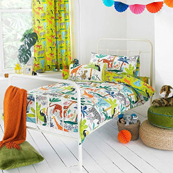 Riva Home Jungletastic täcke-set Toddler (120x150cm) Multicolour