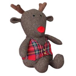Riva Home Rudolph Reindeer Doorstop One Size Brun