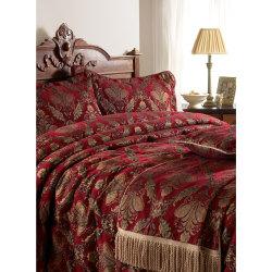 Riva Home Shiraz sängäcke 275x275cm Burgundy