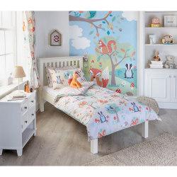 Riva Home Woodland duvet Set Toddler (120 x 150cm) Multicolour c